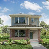 What is David Weekley Homes building in Stapleton Now?