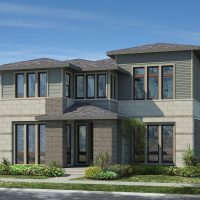 What is Infinity Home Collection Building in Stapleton Now?