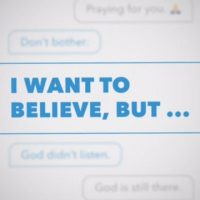 "Week 1: ""I Want to Believe, But…"""