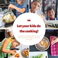 Let Your Kids Do the Cooking with Chef Maggie's New Online Cooking School!