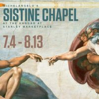The Sistine Chapel is Coming to Stanley Marketplace this Summer!