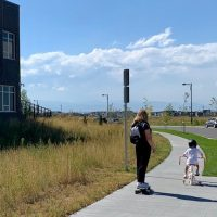 Stapleton Bike & Pedestrian Paths Create Neighborhood Connectivity