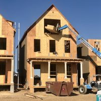 How long does it take to build a new home in Stapleton right now?